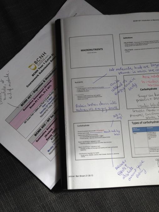 BCNH notes